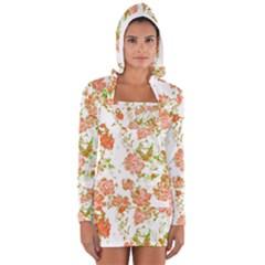 Floral Dreams 12 D Women s Long Sleeve Hooded T-shirt