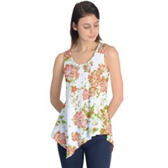 Floral Dreams 12 D Sleeveless Tunic