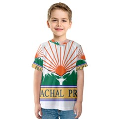 Seal Of Indian State Of Arunachal Pradesh  Kids  Sport Mesh Tee by abbeyz71