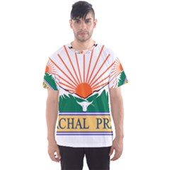 Indian State Of Arunachal Pradesh Seal Men s Sport Mesh Tee by abbeyz71