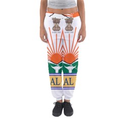 Indian State Of Arunachal Pradesh Seal Women s Jogger Sweatpants by abbeyz71