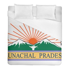 Indian State Of Arunachal Pradesh Seal Duvet Cover (full/ Double Size) by abbeyz71
