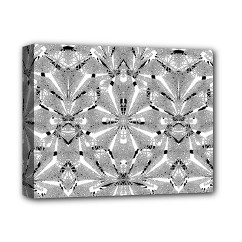 Modern Oriental Ornate Deluxe Canvas 14  X 11  by dflcprints