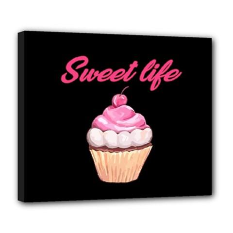 Sweet Life Deluxe Canvas 24  X 20   by Valentinaart