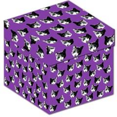Cat Pattern Storage Stool 12   by Valentinaart