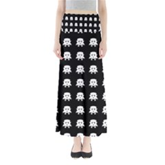 Emoji Baby Vampires Pattern Maxi Skirts by dflcprintsclothing