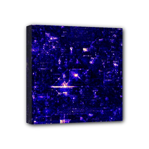 /r/place Indigo Mini Canvas 4  X 4  by rplace