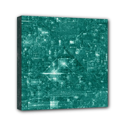/r/place Emerald Mini Canvas 6  X 6  by rplace