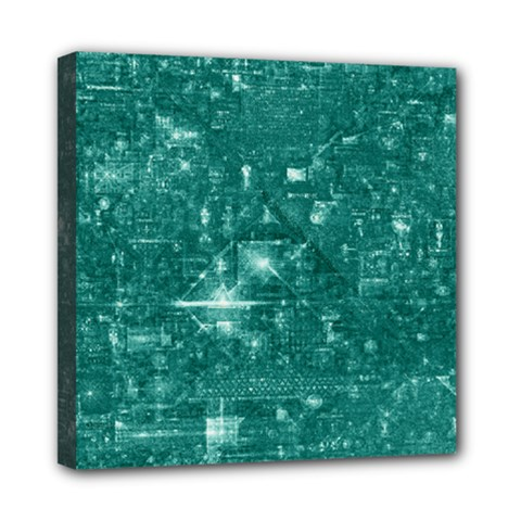 /r/place Emerald Mini Canvas 8  X 8  by rplace