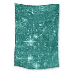 /r/place Emerald Large Tapestry by rplace