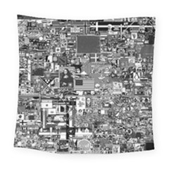 /r/place Retro Square Tapestry (large) by rplace
