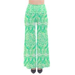 Kiwi Green Geometric Pants by linceazul