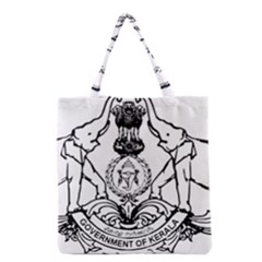 Seal Of Indian State Of Kerala Grocery Tote Bag by abbeyz71