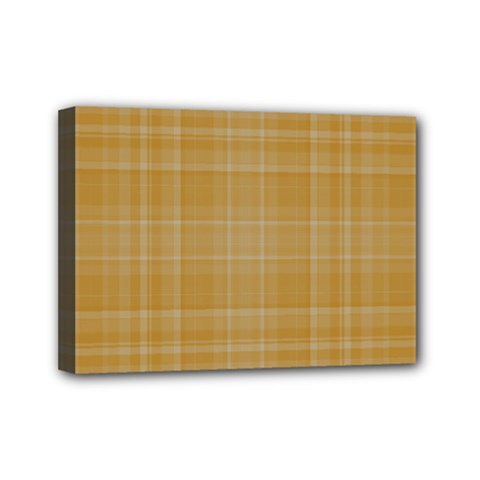 Plaid Design Mini Canvas 7  X 5  by Valentinaart