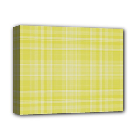 Plaid Design Deluxe Canvas 14  X 11  by Valentinaart