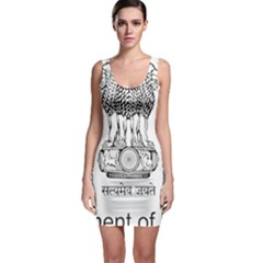 Seal Of Indian State Of Mizoram Sleeveless Bodycon Dress by abbeyz71
