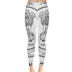 Seal Of Indian State Of Punjab Leggings  by abbeyz71