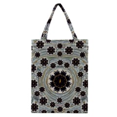 Wood In The Soft Fire Galaxy Pop Art Classic Tote Bag by pepitasart