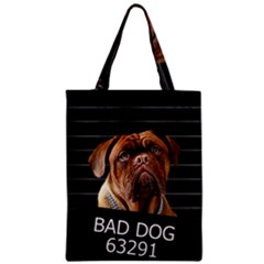 Bed Dog Zipper Classic Tote Bag by Valentinaart