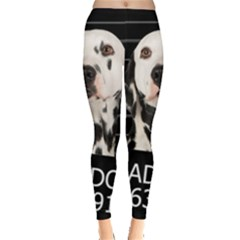 Bad dog Leggings  by Valentinaart