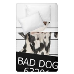 Bad Dog Duvet Cover Double Side (single Size) by Valentinaart