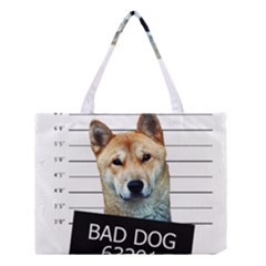 Bad Dog Medium Tote Bag by Valentinaart