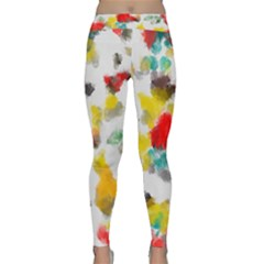 Colorful paint stokes           Yoga Leggings by LalyLauraFLM