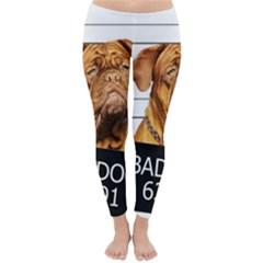 Bad Dog Classic Winter Leggings by Valentinaart