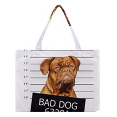 Bad Dog Medium Tote Bag by Valentinaart