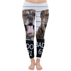 Bad Dog Classic Winter Leggings by Valentinaart