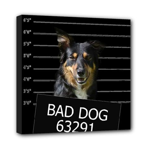 Bad Dog Mini Canvas 8  X 8  by Valentinaart