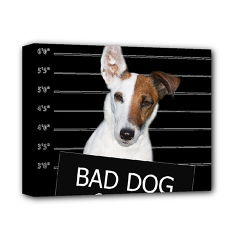 Bad Dog Deluxe Canvas 14  X 11  by Valentinaart