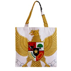 National Emblem Of Indonesia  Zipper Grocery Tote Bag