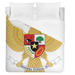 National Emblem Of Indonesia  Duvet Cover (queen Size) by abbeyz71