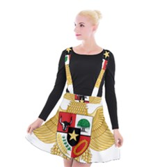 National Emblem Of Indonesia  Suspender Skater Skirt by abbeyz71