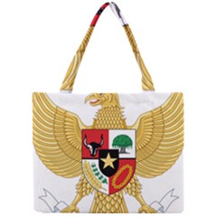 National Emblem Of Indonesia  Mini Tote Bag by abbeyz71