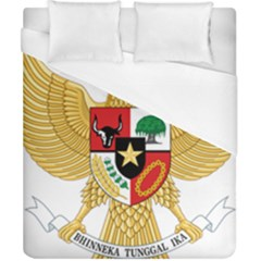 National Emblem Of Indonesia  Duvet Cover (california King Size) by abbeyz71