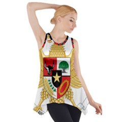 National Emblem Of Indonesia  Side Drop Tank Tunic by abbeyz71