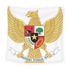 National Emblem Of Indonesia  Square Tapestry (large) by abbeyz71