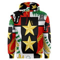 Shield Of National Emblem Of Indonesia  Men s Pullover Hoodie by abbeyz71