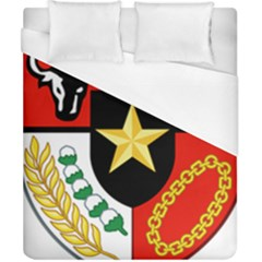 Shield Of National Emblem Of Indonesia  Duvet Cover (california King Size) by abbeyz71