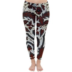 Javanese Batik Classic Winter Leggings by Vanbedor