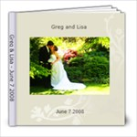 Lisa wedding book - 8x8 Photo Book (30 pages)