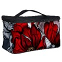 Red Flowers Pattern Cosmetic Storage Case View2