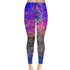 Poetic Cosmos Of The Breath Leggings  by Vanbedor
