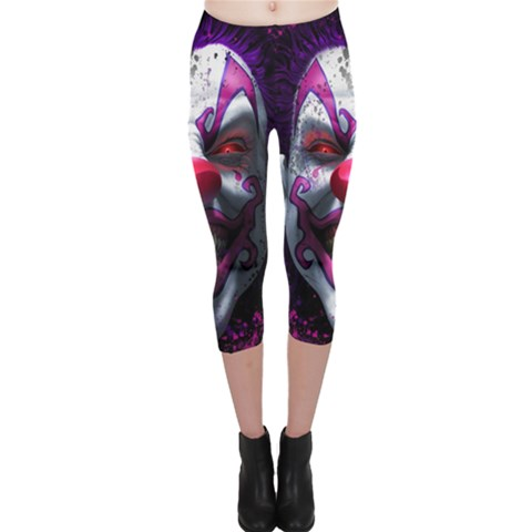 Capri Leggings  Front
