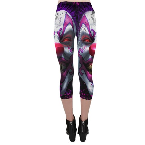 Capri Leggings  Back