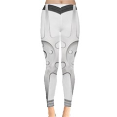 Wheel Skin Cover Leggings  by Vanbedor