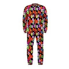 Colorful Yummy Donuts Pattern Onepiece Jumpsuit (kids) by EDDArt