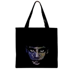 Wild Child  Zipper Grocery Tote Bag by Valentinaart